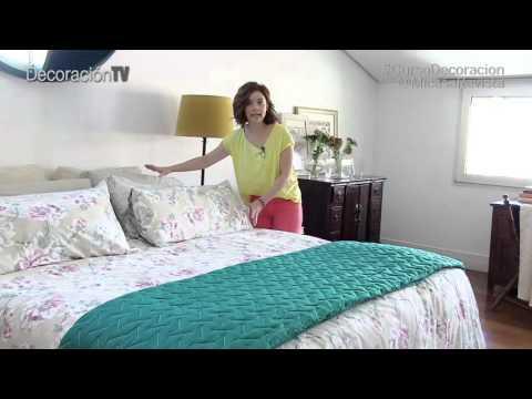 Cómo vestir la cama. Curso de decoración Micasa