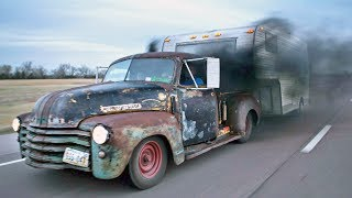 Badass Diesel Turbo RAT ROD Pickup