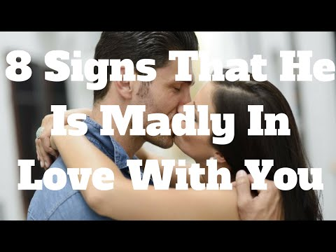 8 Signs That He Is Madly In Love With You