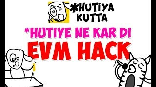 Hutiya Kutta | Funny Dog Adventures | Dog Hacks EVM Machine | Indian Elections Special