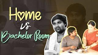 Home VS Bachelor Room || BUMCHICK BABLOO || Tamada Media