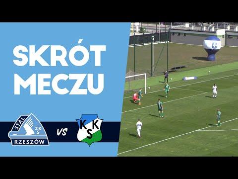 WIDEO: Stal Rzeszów - KKS Kalisz 3-3 [skrót meczu, bramki]