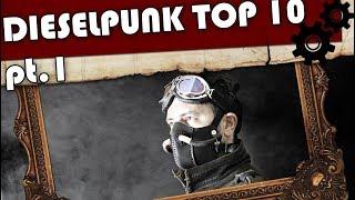TOP 10 DIESELPUNK FILMES/ DIESELPUNK MOVIES PT1. - CANAL STEAMPUNK