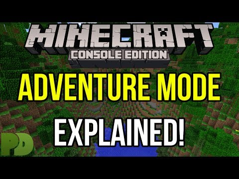 Minecraft Xbox & PS3: Adventure Mode Explained   CONFIRMED in TU14!