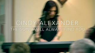 The Song Will Always Find You by Cindy Alexander (Live from Seth & Tony's House Concert)