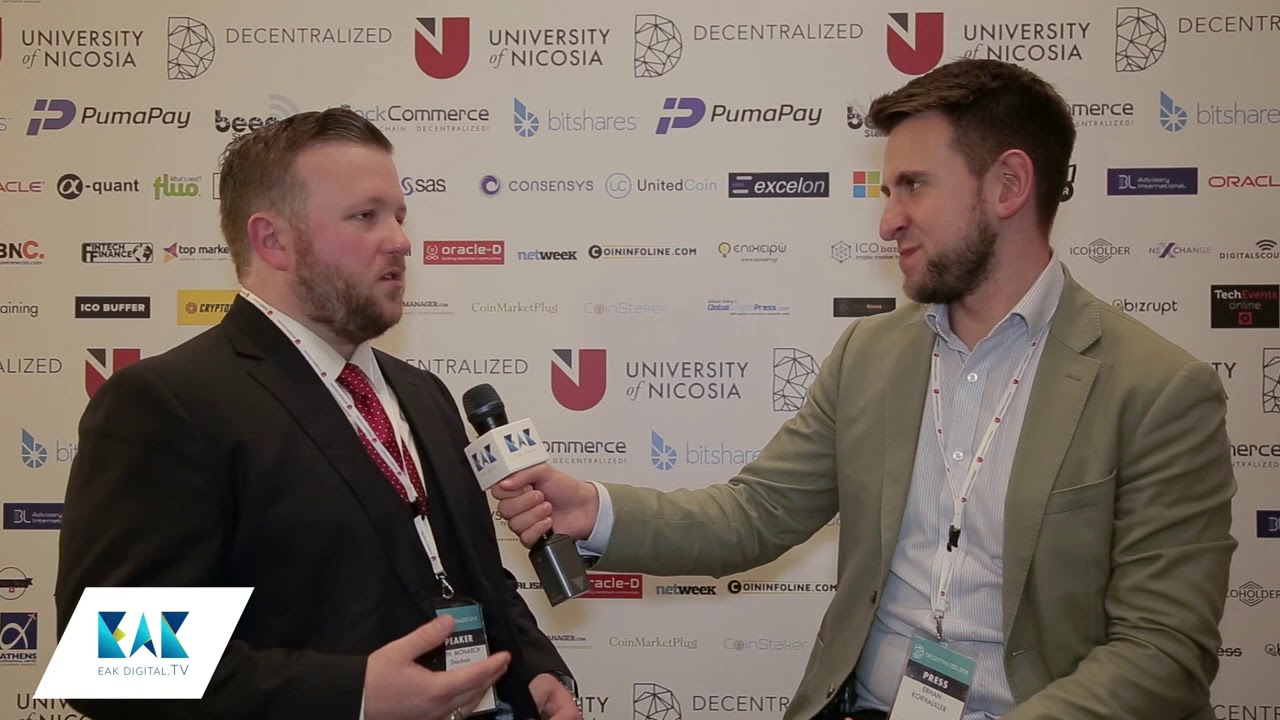 Interview with John Monarch of ShipChain at Decentralized 2018