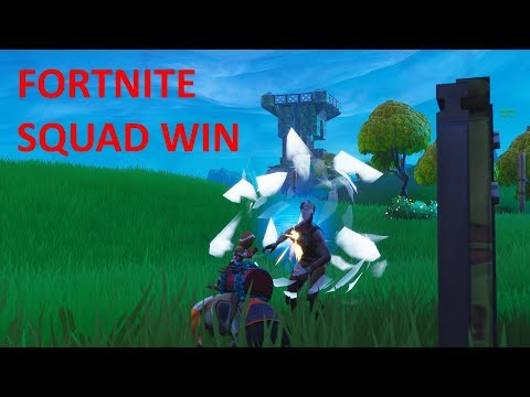 Fortnite - Awesome squad win (MY BEST VIDEO YET)