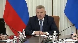 Губернатор провел заседание межведомственной рабочей группы по вопросам реформы контрольно-надзорной деятельности