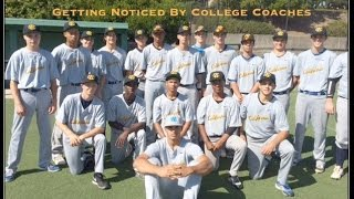 College Baseball Recruitment: Getting Noticed by Coaches