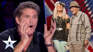 Unforgettable Audition: 92-year-old crooner swoons Judges | Britain's Got Talent