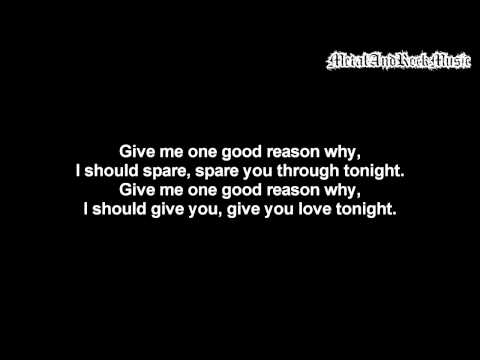 Bullet For My Valentine - One Good Reason Why | Lyrics on screen | HD