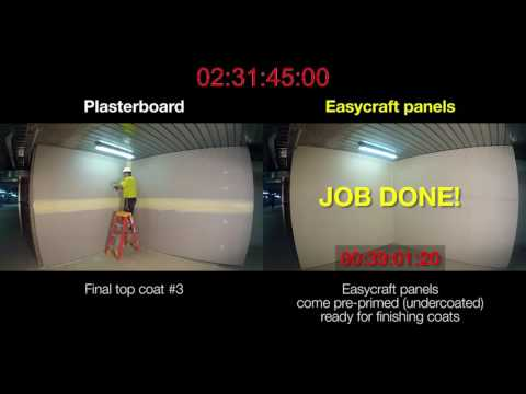 INSTALLATION comparison - Easycraft vs P/Board