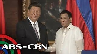 TV Patrol: Chinese President Xi Jinping mainit na sinalubong sa Malacañang