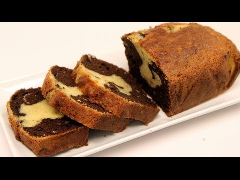 Video Marble Cake Recipe - Super Moist! - CookingWithAlia - Episode 235