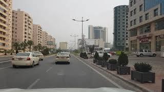 Daytime driving in Erbil Kurdistan Iraq