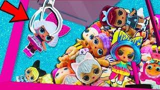 ВЫТАЩИЛА 5 ЛОЛ из ХВАТАЙКИ. Мультики куклы лол, Подруги Буги Вуги