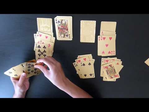 Does he or she love me? 4 Kings Reading using Playing Cards