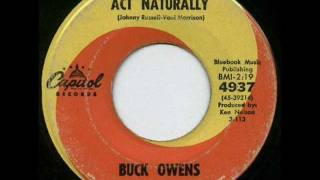 Buck Owens & the Buckaroos - Act naturally (1963)