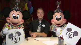 Learn To Draw: 'Pie-Eyed' Mickey Mouse Wraps Special Art