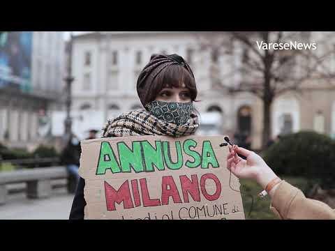 Una giornata in piazza a Milano con Fridays For Future