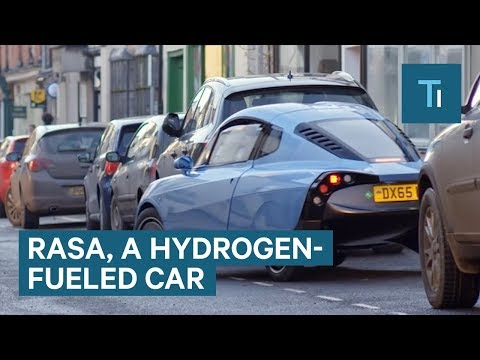 This hydrogen-powered car can travel up to 300 miles on a single tank