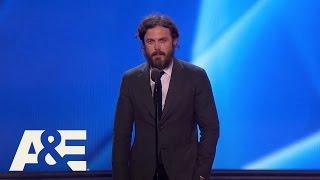 Casey Affleck Wins Best Actor  22nd Annual Critics Choice Awards  A&E