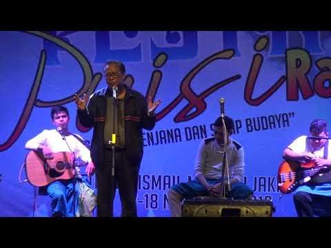 Rida K Liamsi   Peluncuran buku Hari Raya puisi HPI 2018