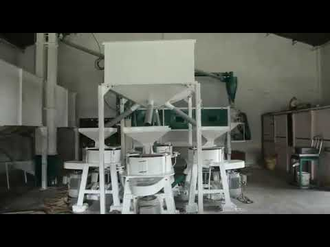 30 Ton Industrial Flour Mill Machine