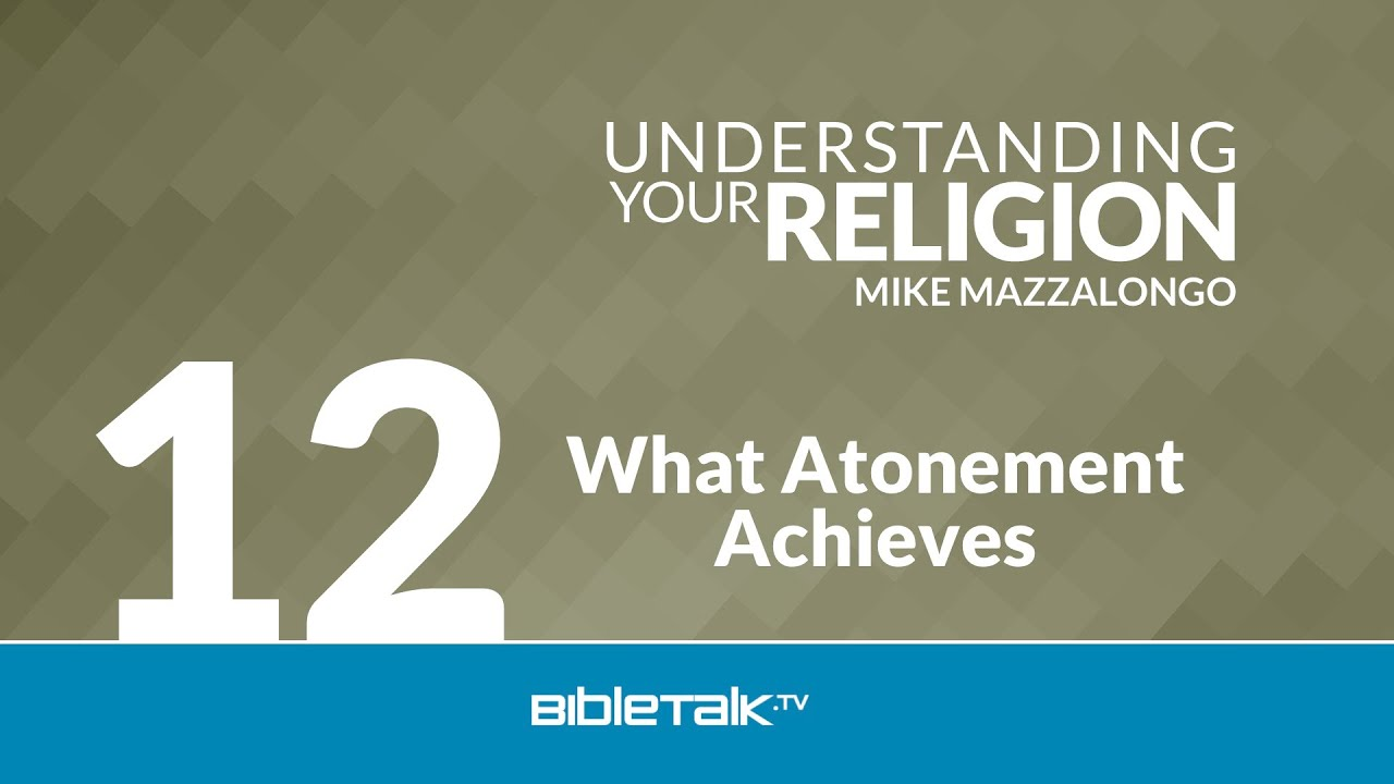 understanding of atonement It must be so — our holiest holiday is dedicated to atonement but it's not just  jews the headlines are filled with the misdeeds of former heroes.