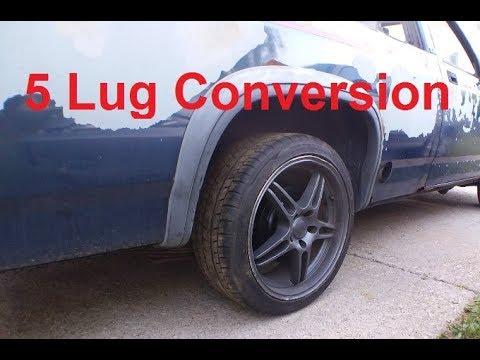 Dodge Dakota 5 Lug Conversion Pt 1: Rear End