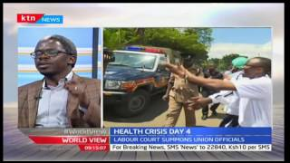World View 8th December 2016 - [Part 1] -  Discussions on Health Crisis in Kenya