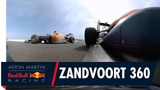 Zandvoort 360 | Max Verstappen Daniel Ricciardo and David Coulthard unleashed
