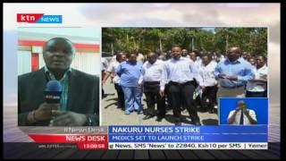 Nakuru County Nurses launch strike
