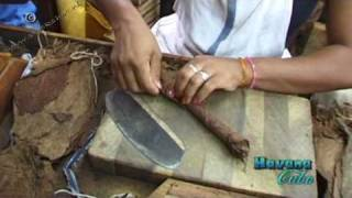 preview picture of video 'How to make a Habanos cigar, Cuba'