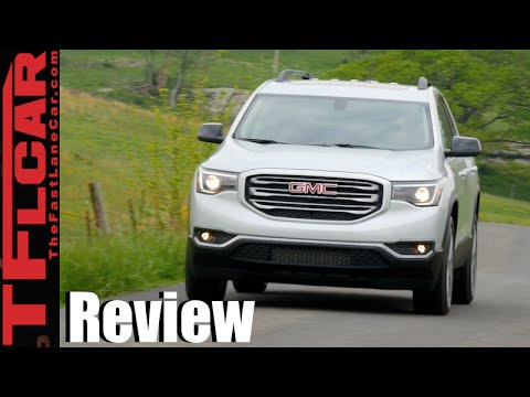 2017 GMC Acadia All-Terrain: On And Off-Road Review