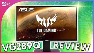 Asus TUF VG289Q 4K IPS Gaming Monitor Review!