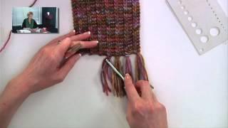Knitting Help - Adding Fringe