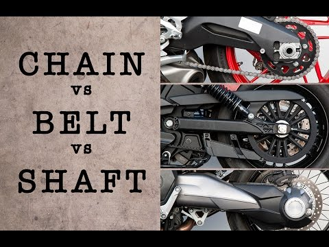 CHAIN vs BELT vs SHAFT – Which System is Best? | MC GARAGE