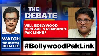 BJP VP Puts Focus On Bollywood-Pak-Link | The Debate With Arnab Goswami - Download this Video in MP3, M4A, WEBM, MP4, 3GP