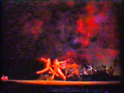 """Сцена """"Вальпургиевой ночи"""" из оперы """"Фауст"""" Комп. Шарль Франсуа Гуно."""