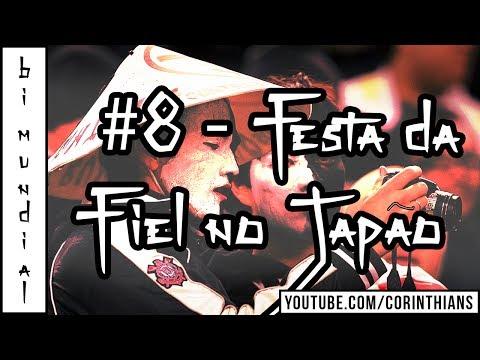 Torcida do Corinthians canta pó ró pó pó junto com japoneses que torciam pro Chelsea