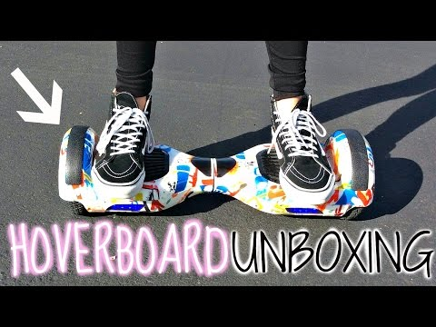 HOVERBOARD SEGWAY UNBOXING + Test Ride & Review!