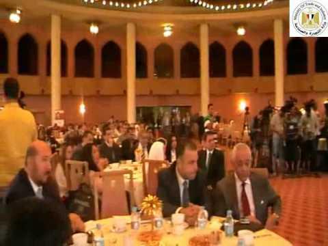 كلمة الوزير/طارق قابيل خلال احتفالية تكريم 100 شاب وشابة قدموا 85 مشروعاً ناجحاً
