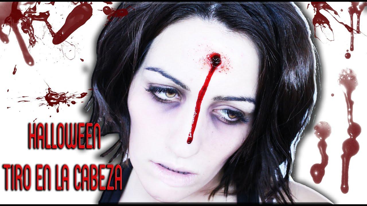 NonaMakeUp: Halloween: Maquillaje FX, Tiro en la cabeza