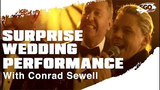 Conrad Sewell Surprises The Real Dads Of Melbourne At Their Wedding | Sony Originals