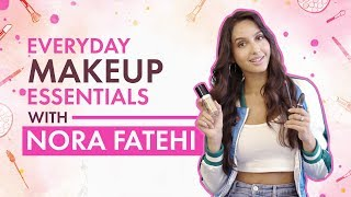 Nora Fatehi : Whats In My Makeup Bag | Bollywood | Pinkvilla | Fashion