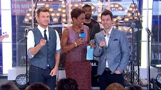 Nick Carter and Jordan Knight Discuss Their New Music Project