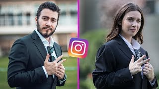 Youtuberların Instagramlarını Kopyaladım | Enes Batur, Orkun Işıtmak, Danla Biliç
