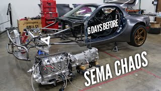 SEMA almost didn't happen! 4 Rotor Drivetrain problems