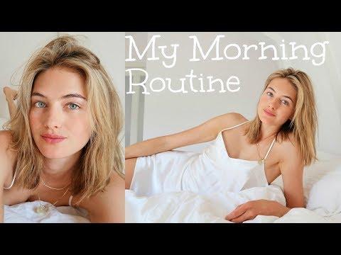 Model Summer Morning Routine | Skincare, Food, & My Diet | Sanne Vloet